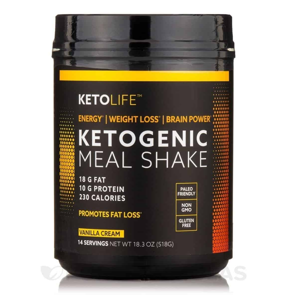 6. Ketolife Meal Replacement with MCT