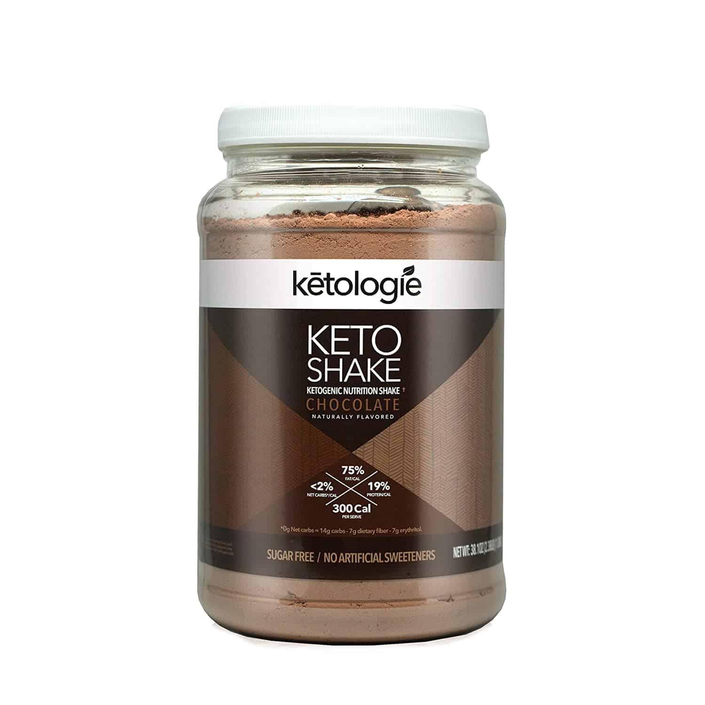 Ketologie Chocolate Keto Protein Shake