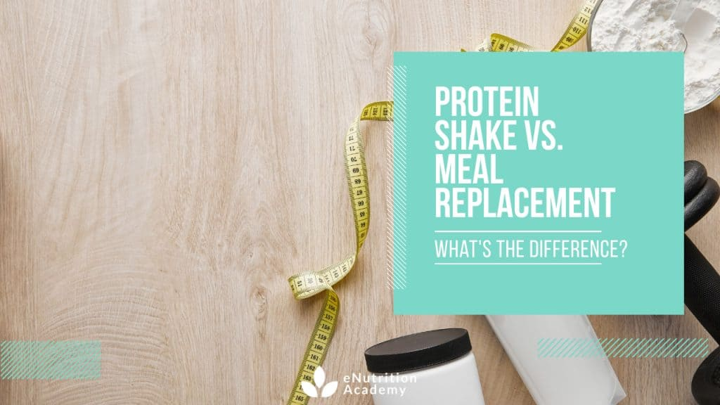 Protein Shake vs Meal Replacement